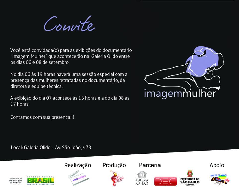 convite Imagem Mulher