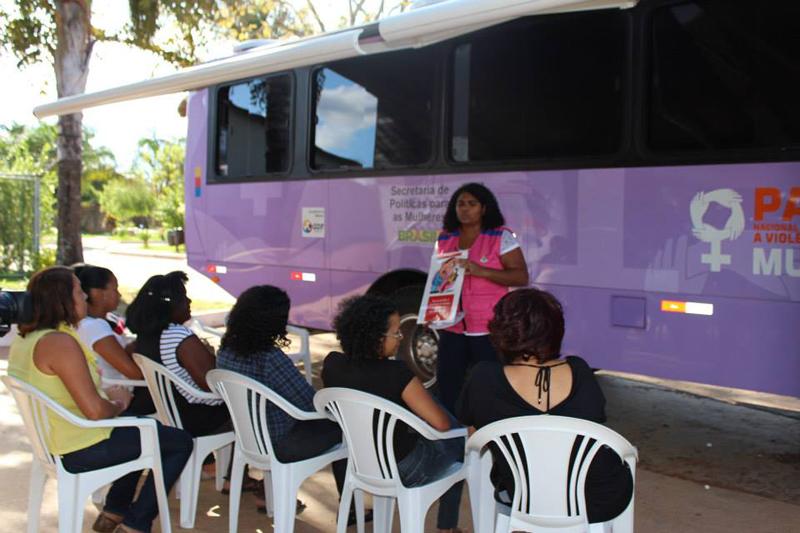 Mulheres usufruem de serviços como atendimentos psicológico, social e jurídico. Foto: Tainan Pimentel/SPM