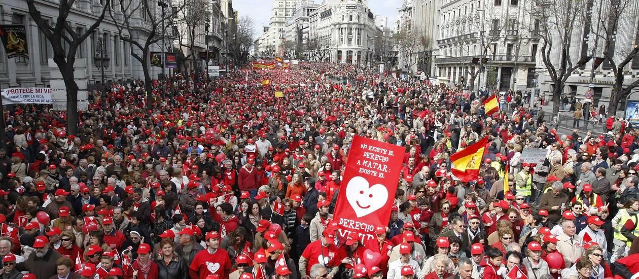 A reforma na legislação sobre o aborto gerou protestos nas ruas - Paul White / Paul White / AP - Arquivo 2009