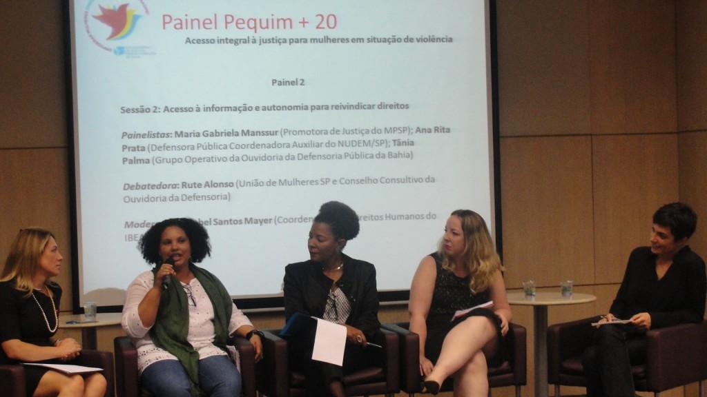 Gabriela Manssur, Tânia Palma, Isabel Santos e Rute Alonso (da esq. para a dir.). Crédito: Luciana Araújo