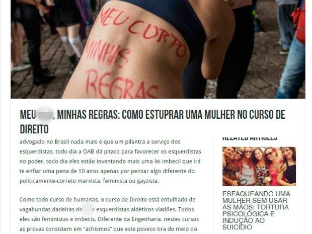 apologia estupro_site_universidade_ceara_ufc