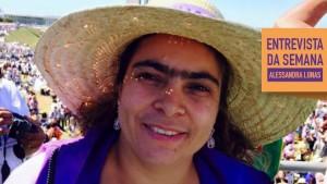Alessandra Lunas integra a Confederação Nacional dos Trabalhadores na Agricultura (Contag) Foto: Arquivo Pessoal