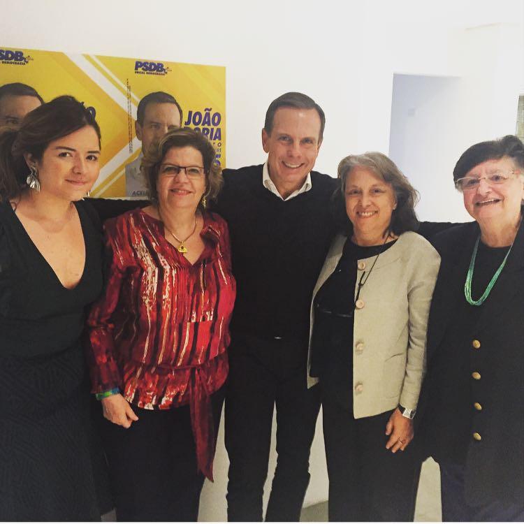 João Doria se mostrou sensível às propostas da Plataforma Cidade 50-50