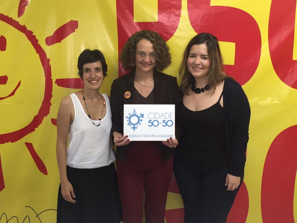 Luciana Genro assina propostas da Cidade 50-50