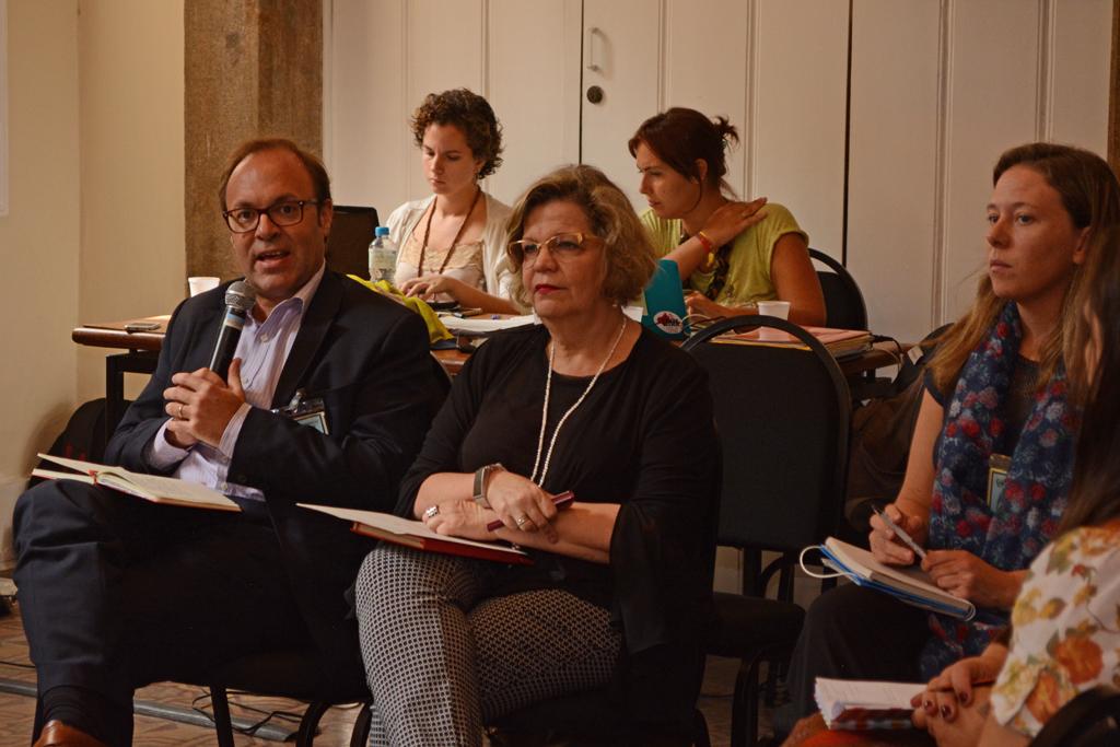 Para Jaime Nadal, zika denunciou 'falências' na garantida dos direitos das mulheres. Foto: UNIC Rio/Pedro Andrade