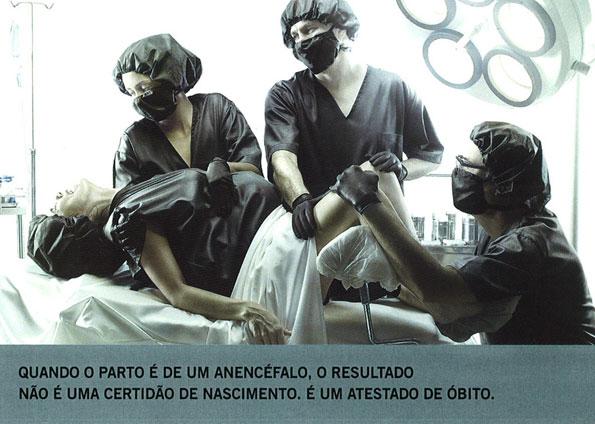 campanha pelo direito ao aborto em caso de anencefalia