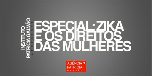 banner do especial zika e os direitos das mulheres