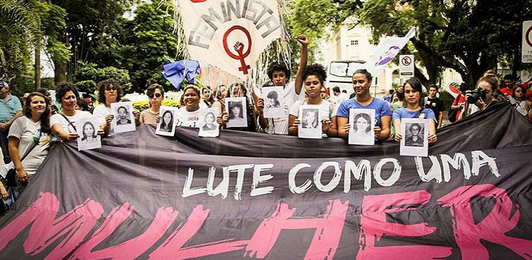 ato de mulheres em apoio a Lula_foto rede brasil atual