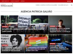 Site novo da Agência Patrícia Galvão